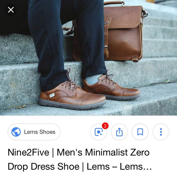 Lems Shoes Euc Lems Nine2five Minimalist Zero Drop Dress Shoe Poshmark